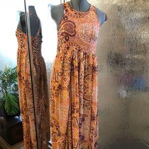 Dresses & Skirts - Hi neck maxi dress size small